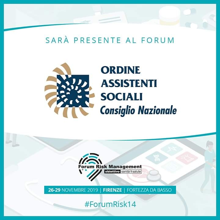 Forum Risk Management in Sanità 2019 - DAL 26 AL 29 NOVEMBRE - FIRENZE